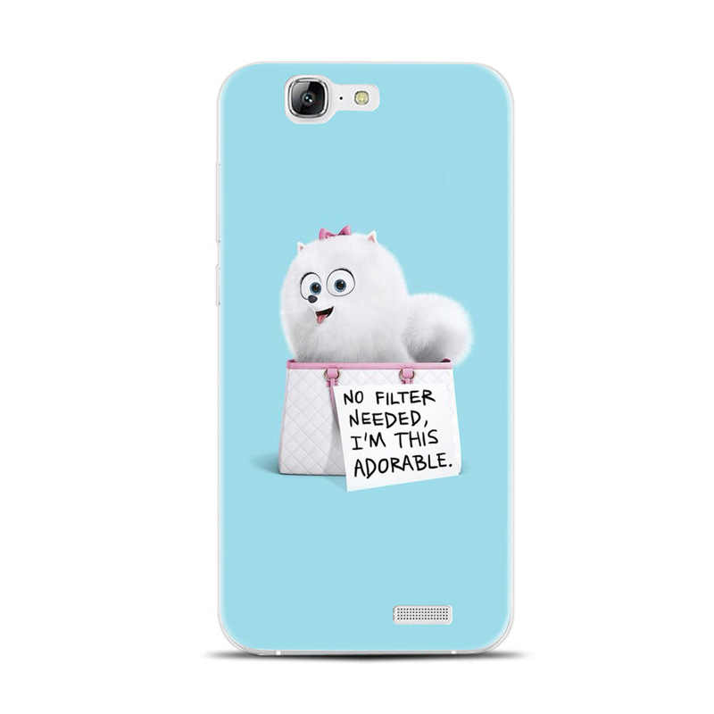 H310 The Secret Life Of Pets Transparent Hard Thin Skin Case Cover For  Huawei P8 P9 P10 Lite Plus 2017 Honor 8 Lite 9 6X