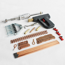 auto body repair tools spot welder stud welding kit uni spotter deluxe starter kit dent puller slide hammer gun pulling claw auto body tools dent puller kit spotter stud welder spot welding gun washer chuck holder car bodywork dent repair automotive