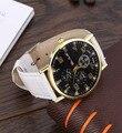 Números Reloj ocasional De Moda Correa de Cuero Reloj de pulsera vendedora caliente Al Por Mayor
