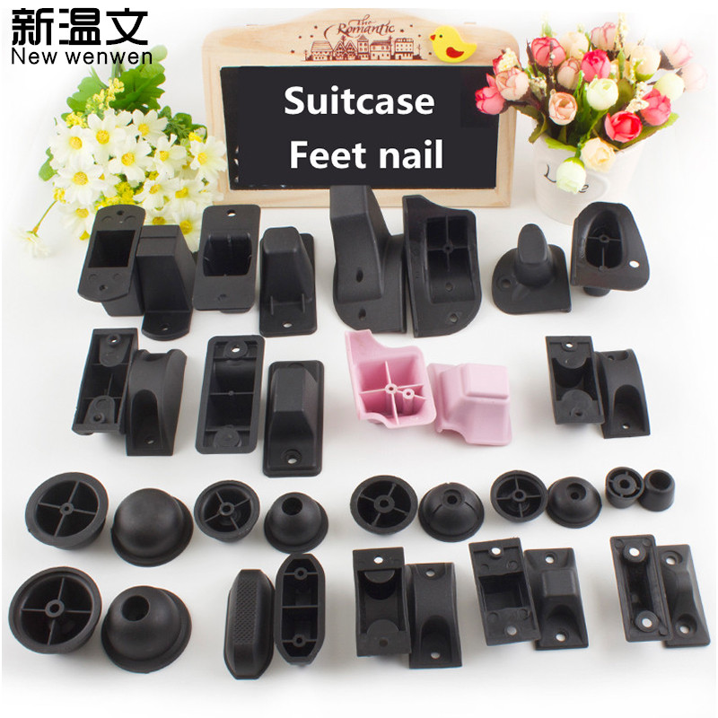 Replacement Luggage Wheels,Luggage Accessories Luggage Round Tripod Support,Suitcase Feet Nail