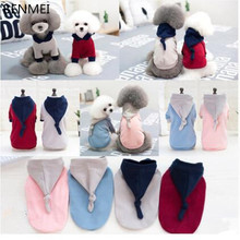 BENMEI dog clothes puppy pet coat dog hoodie sweater pet shop adidogs pet dog clothes for chihuahua pet products supplies