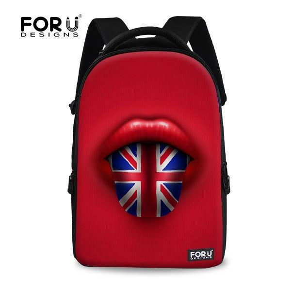 e79b651856 Unique Design UK Flag International Print Laptop Backpack 14 inch Teenager  Travel Backpacks Brand Computer Backpack