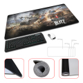Large 4 Sizes for Gaming World of Tanks Desktop Pad Mousepads Computer Animation Mouse Mat Silica gel Gaming Mice Pad