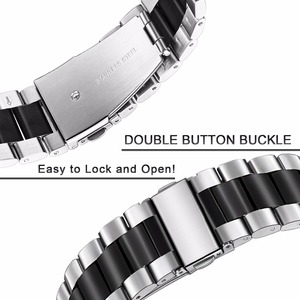 Image 5 - سوار ساعة فريد من TRUMiRR من الفولاذ المقاوم للصدأ + أدوات لدراجات موتو 360 2 46 مللي متر سوار ساعة للرجال لناقلات لونا/ميريديان