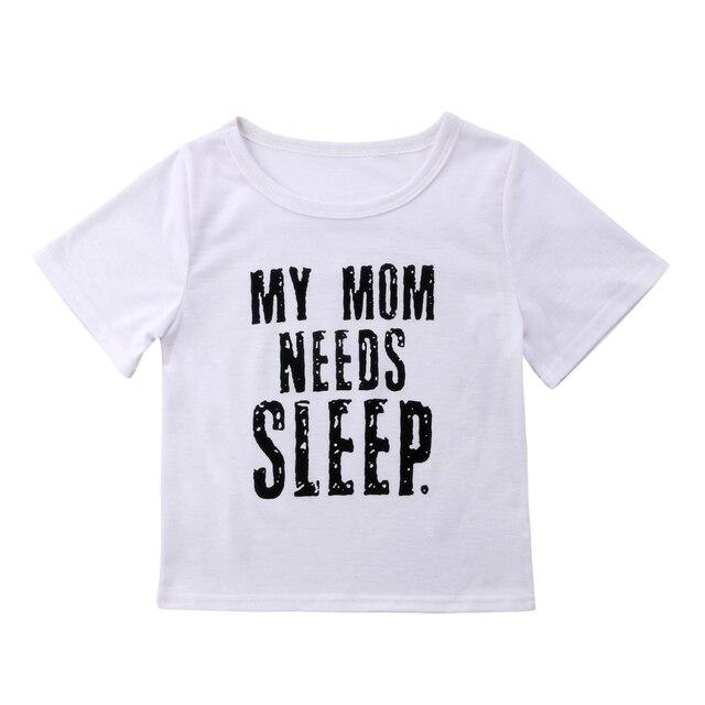 Womens Kids Boy Girl MOM Baby Matching Clothes Cotton Tops T shirt ... 728bb00371