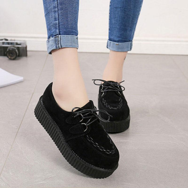ea1138e85 Mulheres trepadeiras sapatos calçados casuais 2017 nova moda Muito alta mulher  sapatos baixos