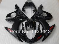 Hi-מעטפת ABS כיתה עבור Yamaha YZF-R6 03-05 YZF R6 03 04 05 YZF R6 600 2003 2004 2005 השחור fairing להריון ולידה סט + 7 מתנות