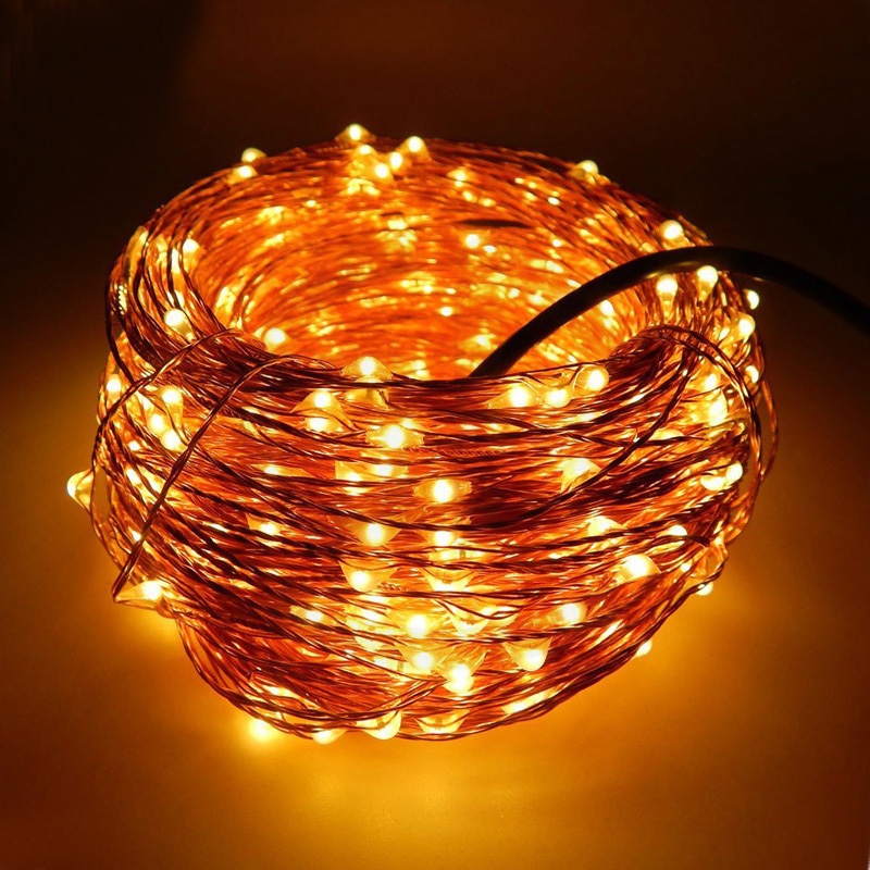 Starry String Lights Outdoor : 30M 300 LEDs 12V Copper Wire LED String Lights Christmas Outdoor Decoration For Home Starry ...
