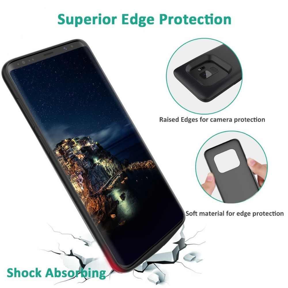 Gagaking cargador de batería para Samsung Galaxy S9/S8 4700/recargable de 5200 mAh Banco de la energía para Samsung Galaxy s9 plus/S8 plus