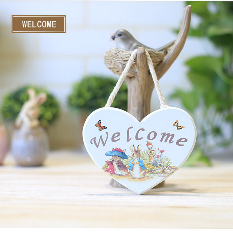 Welcome heart finaning at home decoration finaning