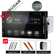 Isudar Universal Car Multimedia player 2 din android 7.1.1 7 Inch For Volkswagen/Passat b5/Toyota/corollaNissan/Tiida/QASHQAI