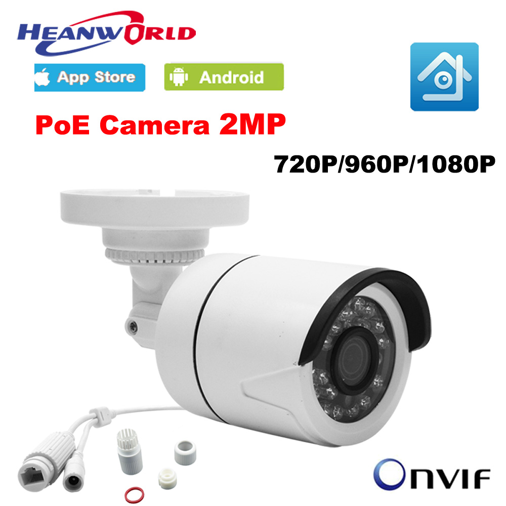 Hd Poe Camera Ip 720p 960p 1080p Mini Home Security Camera 2mp Outdoor Real Time Monitoring By Internet H.264 Onvif P2p Cctv Cam Ture 100% Guarantee Video Surveillance