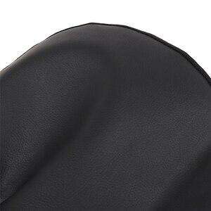 Image 5 - 2pcs שחור עור מפוצל רכב מושב כיסוי עבור כל רכב Suv משאית לרכב מושב מגן כרית אוויר תואם