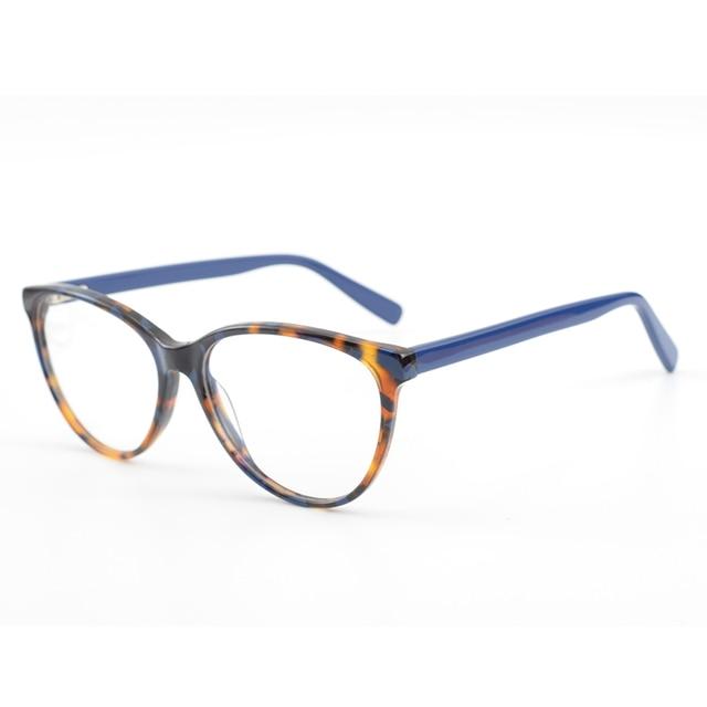 2897a3a754 CARDINAL Cat Eye Women Myopia Optical Frames Fashion Spectacle Frame  Acetate Glasses Frames Prescription Eyeglasses Women