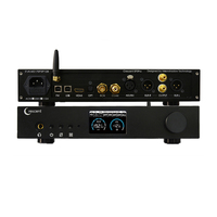 Crescent ep3pro es9038pro completo balanceado xmos dsd 512 alta fidelidade xlr rca bluetooth dac decodificador fone de ouvido amplificador