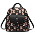2016 Korean fashion printing women little bear backpack the new multi-function lady shoulder bag  backpacks for shopping