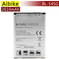 Aibike New Original Mobile Phone Battery BL 54SG For LG G2 D802 D801 F320 F340L H522Y