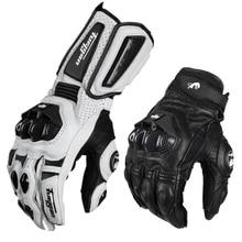 Кожаные Мотоциклетные Перчатки для мотокросса, перчатки для мотокросса, перчатки для мотогонок AFS6 AFS18