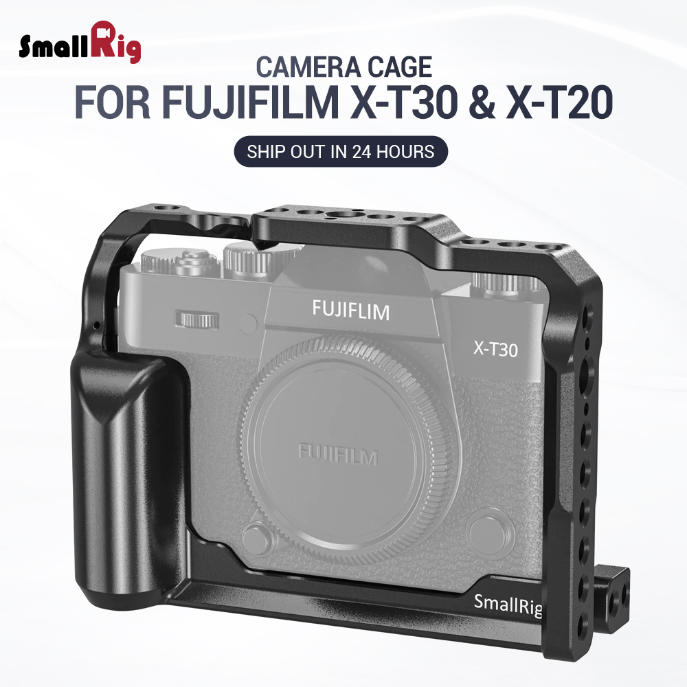 SmallRig XT 30 Cage For Fujifilm X-T30 & X-T20 Camera Feature With Arca Style Plate For Quick Release Attach With Tripod 2356