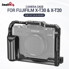 SmallRig XT 30 Cage for Fujifilm X-T30 & X-T20 Camera Feature With Arca Style Plate for Quick Release attach With Tripod 2356 smallrig dslr camera l plate l bracket for canon eos r camera feature with arca style plate quick release with tripod 2257