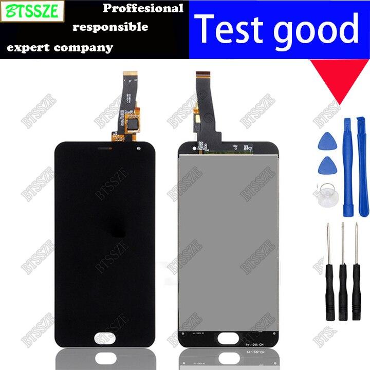 imágenes para BTSSZE Meizu M2 mini Pantalla LCD de 5.0 pulgadas + Pantalla Táctil + herramientas de Alta Calidad HD de la Asamblea Digitalizador Para El Teléfono Móvil con herramientas
