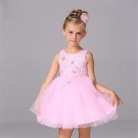 Baby Girl Summer Dress Up Costume For Kids Pink Princess Girls Dance Dresses For Girls Age