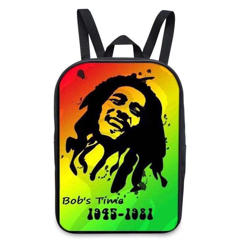 Стильные 3D мужские туристические рюкзаки регги Боб Марли печати ноутбук рюкзаки собака Mochila masculina школьные рюкзак B