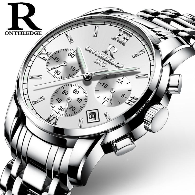 Fashion Classic Men Business Quartz Watch Luksus Multifunksjonelle - Herreklokker - Bilde 5