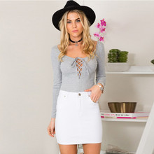 2018 Hollow Out Strappy Women Blouse Plus Size Front Lace Up Top Causal Long Sleeve Shirt Women Ladies Blouses Tie Up 18 недорого