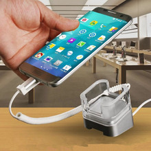 Wholesale new design mobile cell phone security display stand alarm holders for huawei android smartphone