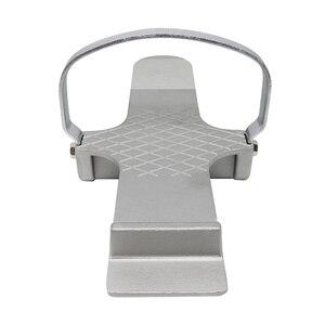 Image 4 - Multifonctionnel cloison sèche porte pied utiliser outil à main réparation plaque de contrôle fort Simple conseil Lifter anti dérapant feuille de plâtre alliage