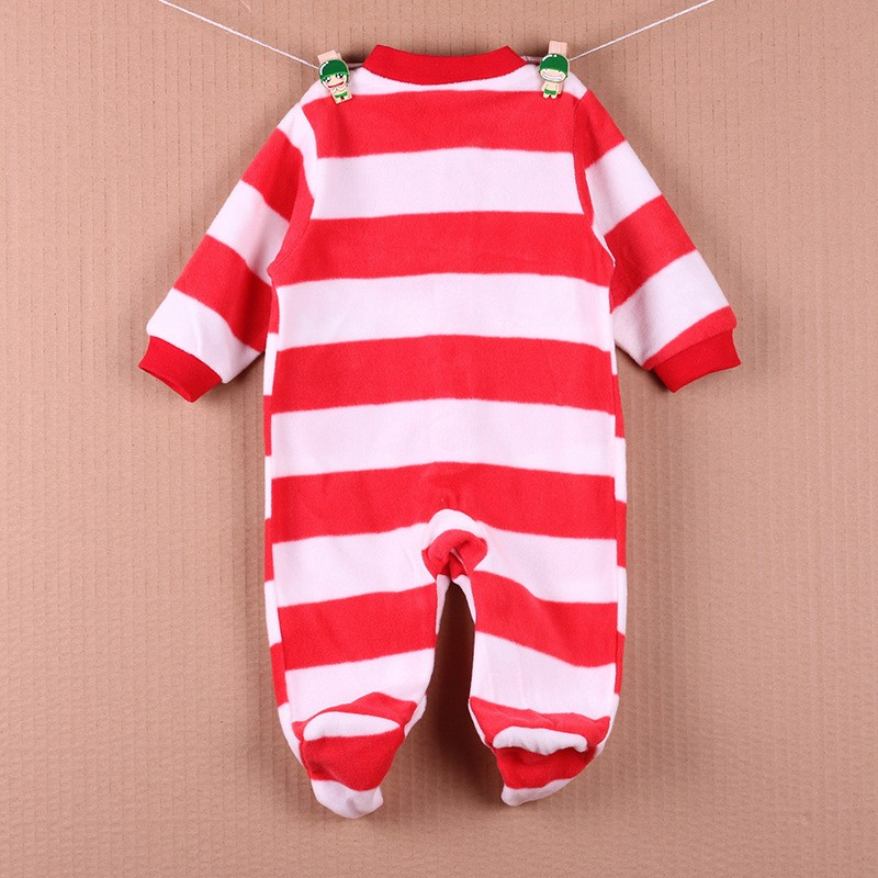New Arrival Baby Footies Boys&Girls Jumpsuits Spring Autumn Clothes Warm Cotton Baby Footies Fleece Baby Clothing Free Shipping (15)