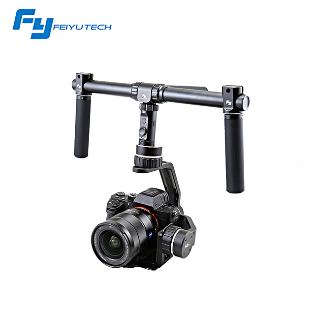 FeiyuTech new update 3 axis mirrorless camera gimbal FY MG V2 for S ony NEX/A7 2/C anon 5D Mark III/LUMIX GH4