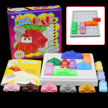 سباق كسر IQ سيارة لعبة سيارة لغز لعبة الإبداعية البلاستيك الذروة ساعة المنطق لعبة لعبة التنموية اللعب