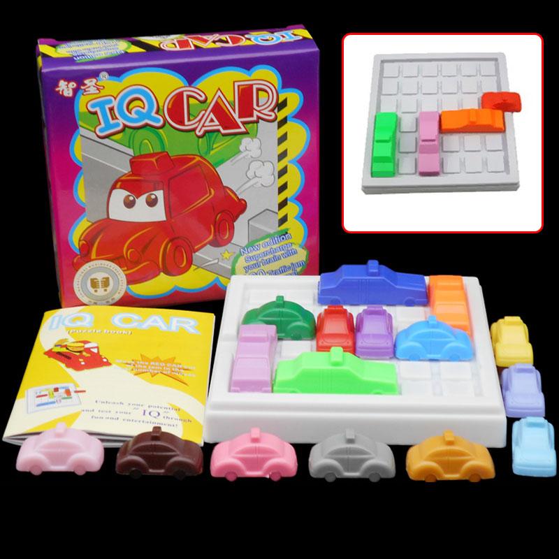 Racing Break IQ Car Game Car Puzzle Toy Creative Plastic Rush Hour Logic Game Developmental Game Toys