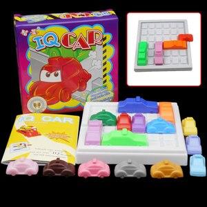 Image 1 - レースブレークiqカーゲーム車のパズルおもちゃのクリエイティブプラスチックラッシュアワーロジックゲーム発達ゲームおもちゃ