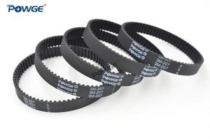 Image 2 - POWGE 10pcs HTD 3M Timing belt 207 3M 9 Perimeter 207mm width 9mm Teeth 69 Rubber HTD3M synchronous belt 207 3M 9 closed loop