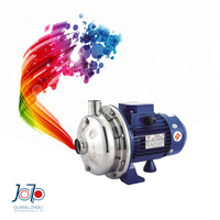 WB70/110D 220V 50Hz Single Phase Electronic Industrial Kitchen Dishwasher Sanitary Pump Stainless Steel Centrifugal Water Pump