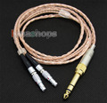 6.5mm 3.5mm Pure 99.777% 8n OCC Cable For Senheiser HD800 Headphone Earphone lock version LN004172