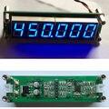 AZUL 1 MHz ~ 1000 MHz RF Singal Contador de Freqüência Tester Medidor Digital 6 LED para Amplificador de Rádio Amador
