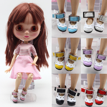 Lace tie shoes suitable For blyth JerryB MMK Azone dolls for 30cm blyth doll 1 6
