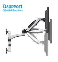 35 55 Heavy Duty Gas Spring Full Motion Flexible LCD LED Monitor TV Wall Mount Bracket Arm Loading 9 16kgs