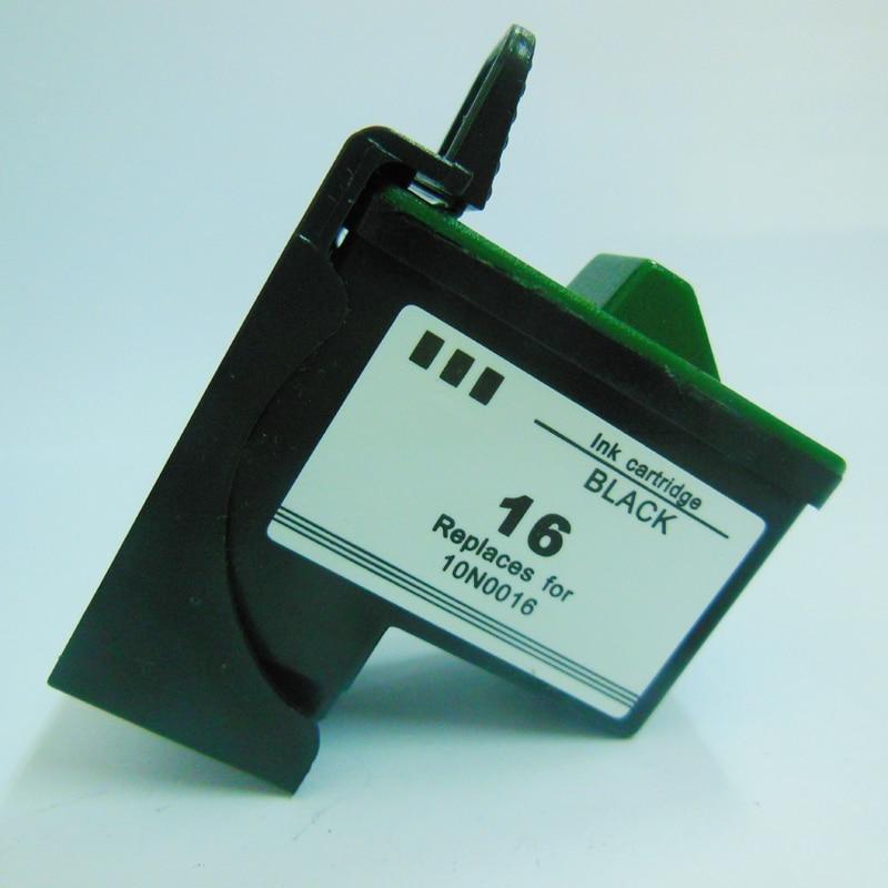 For Lexmark 16 Black Ink Cartridge For Lexmark z617 i3 Z13 Z23 Z25 Z33 Z35 Z513