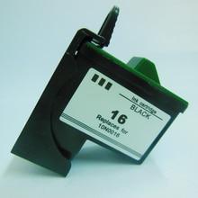 Для Lexmark 16 черный картридж для lexmark z617 i3 Z13 Z23 Z25 Z33 Z35 Z513 Z515 Z603 Z605 Z611 Z615 Z645 X2250 X74