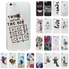 OWNEST letter Rubber Soft TPU Silicone Phone Gel Back Case Cover For iPhone 7 7 plus 5 5S SE 6 6S Plus