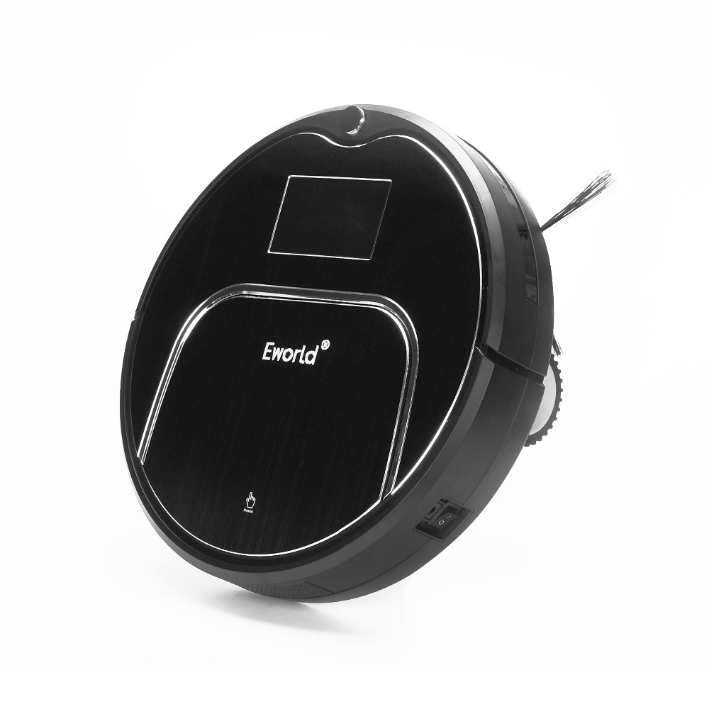 eworld gifts m883 smart dry and wet mop robot vacuum cleaner for home auto charge hepa - Robot Mop