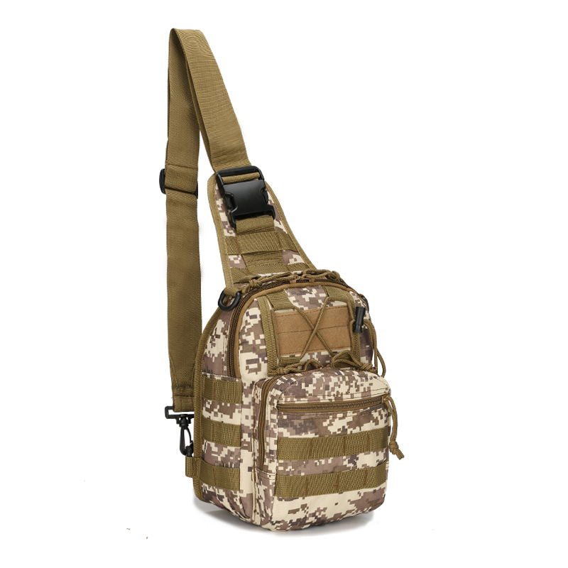 Hiking Bag Military Tactical Bag Nylon Camouflage Waterproof Bag Multi Function Backpack Travel Outdoor Mountaineering Bag