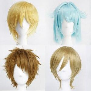 Anime Ensemble Stars Ra*bits Cosplay Costume Accessory nito nazuna Shino Hajime Tomoya Mashiro Tenma Mituru Party Hair(China)