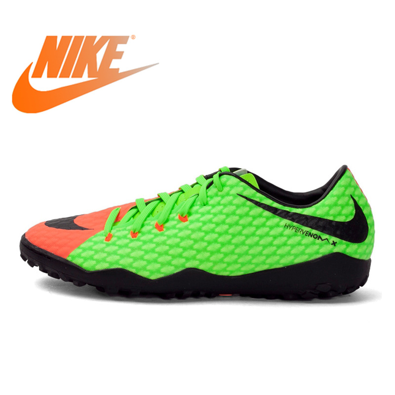 Original Nike DMX Men's Light Comfortable Football Shoes Soccer Shoes Sneakers Authentic Breathable Lace Up Hard Court 852562