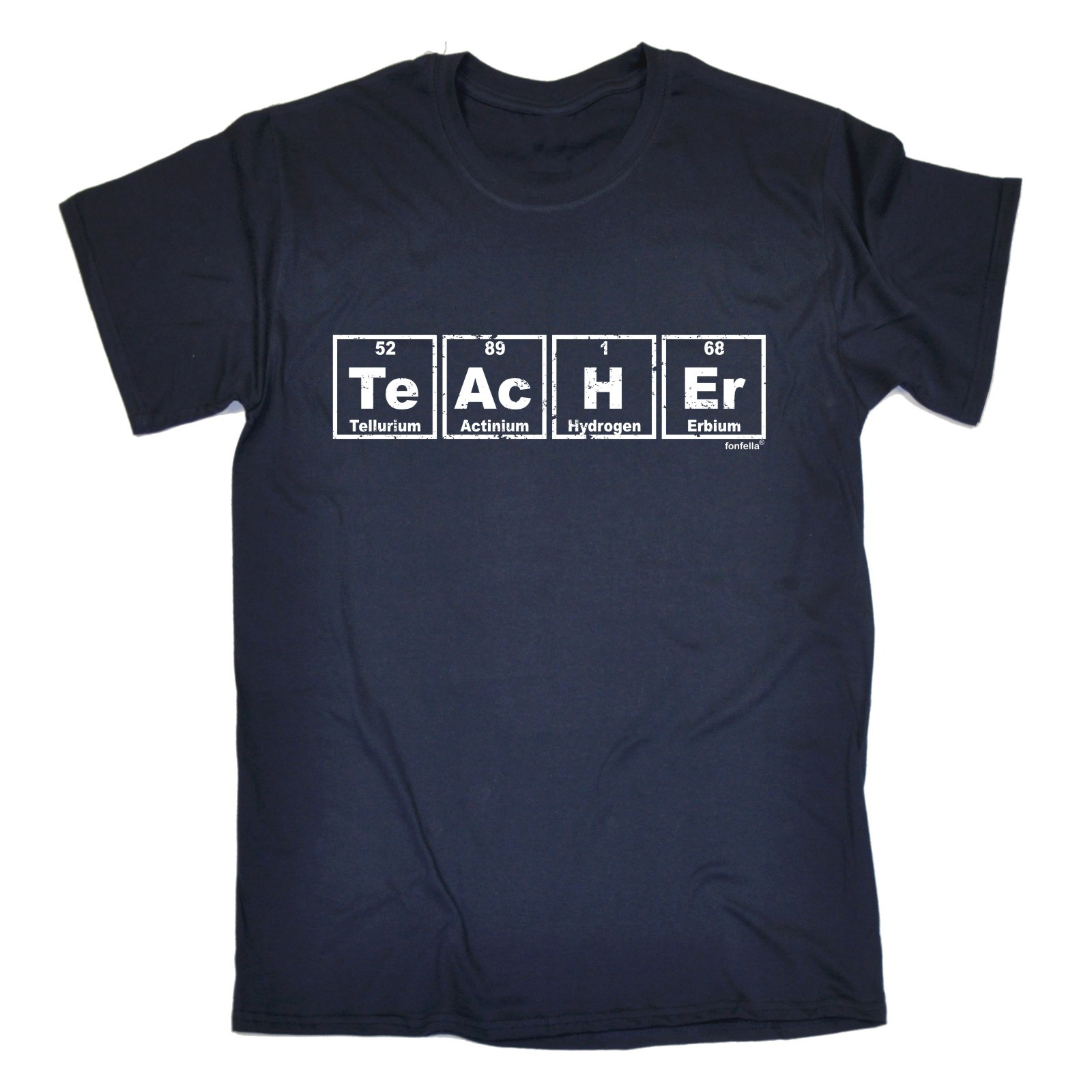 Teacher Periodic Table T Shirt School University College Birthday